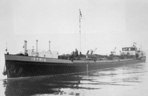 Het motortankschip ISTRIA. Foto: Archief Phs. van Ommeren - met dank.